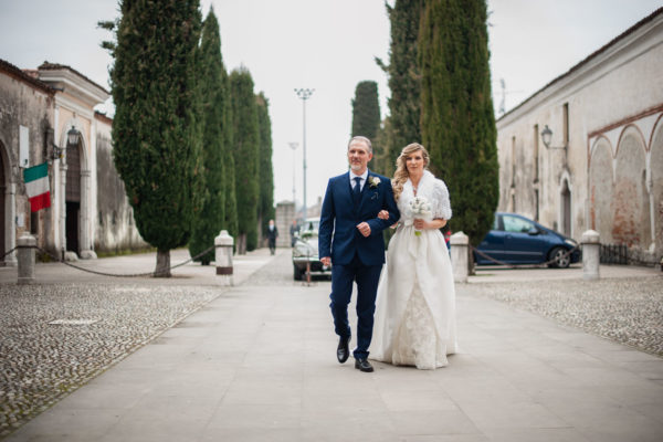 Fotografo di Matrimonio alla Abbazia Olivetana