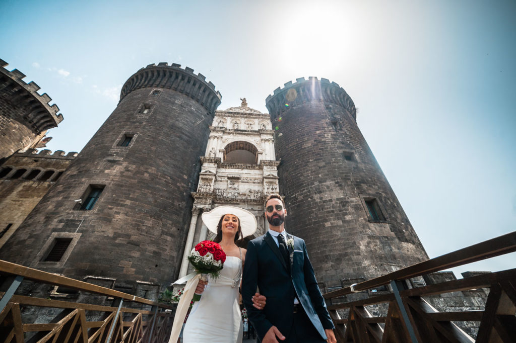 Destination wedding photographer in Napoli