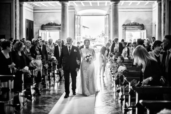 Fotografo di matrimoni a Palazzo Barbò a Bergamo